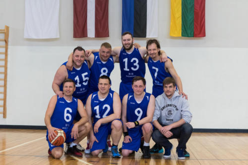 Baltic Assembly basketball tournament. 10 May 2019 Jelgava (Latvia). Estonian Parliament 2nd place